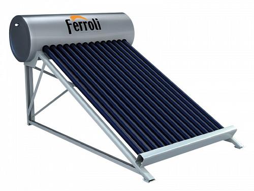 Máy nước nóng năng lượng mặt trời Ferroli Ecosun 160 lít