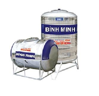 Bồn nước INOX Bình Minh 5000 lít đứng