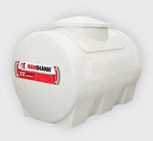 Bồn nước nhựa cao cấp Nam Thành 300L nằm
