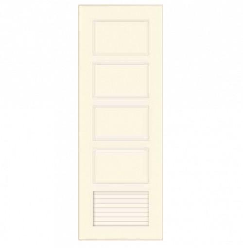 Cửa nhựa màu trắng Y@door YW 80