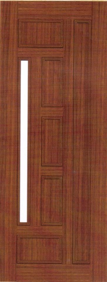Cửa nhựa giả gỗ Đài Loan KQ-86