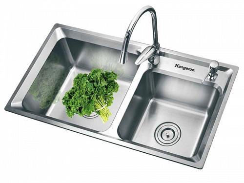 Chậu rửa chén Kangaroo  KG 7742