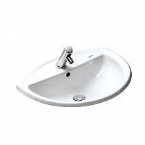 Chậu rửa tay âm bàn INAX L-2396V