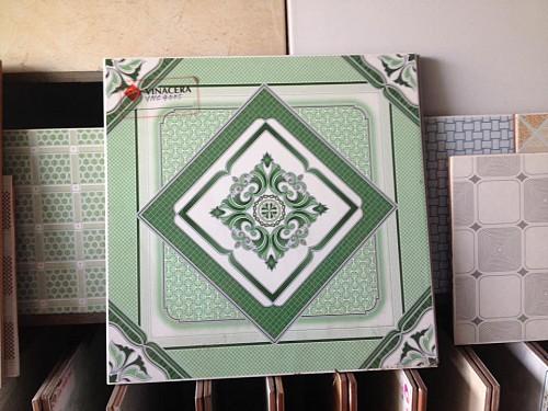 Gạch 40x40 Bông xanh giá rẻ