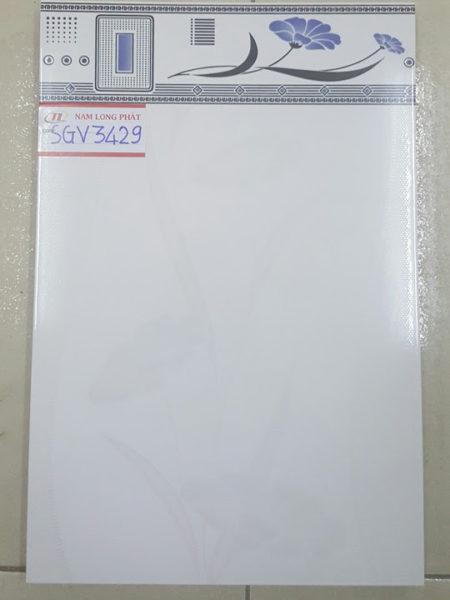 Gạch men ốp tường 30×45 mài cạnh giá rẻ HA1081