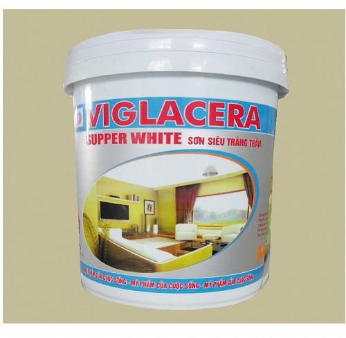 Sơn Nội Thất siêu trắng Viglacera