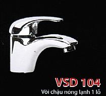 Vòi lavabo nóng lạnh Viglacera VSD 104