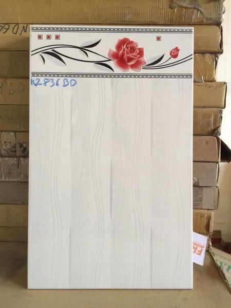 Gạch 25×40 bông đỏ ốp tường HA442