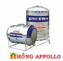 Bồn nước INOX Bình Minh 500 lít đứng