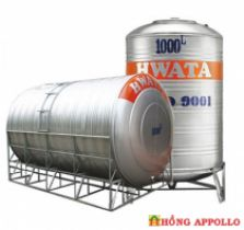 Bồn nước INOX HWATA  1000 lít ngang