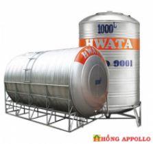Bồn nước INOX HWATA 10000 lít ngang