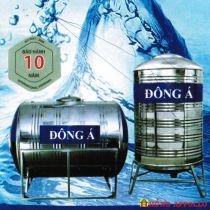 Bồn nước inox Đông Á 6000 lít ngang