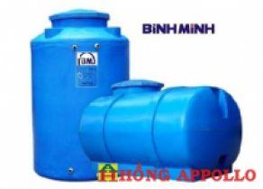 Bồn nước nhựa Bình Minh 600 lít đứng